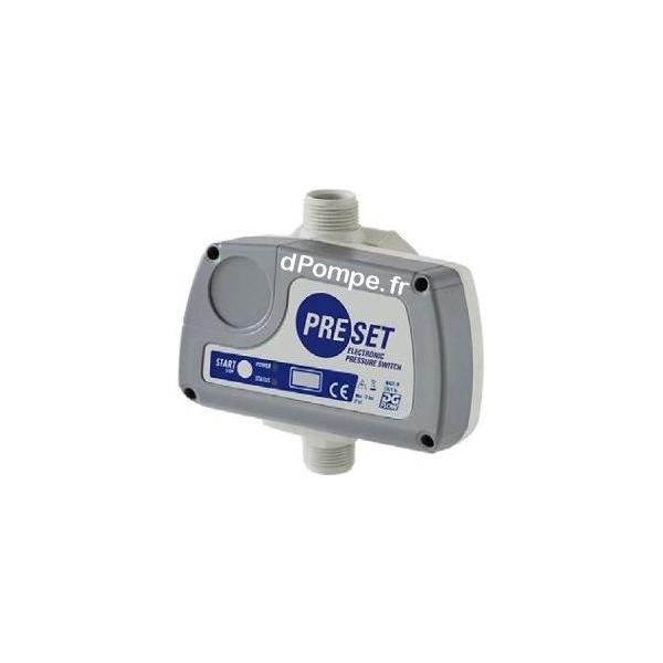 Pressostat lectronique preset mono 230 v 16 a avec - Pressostat manque d eau ...