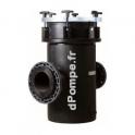 Prefiltre polyethylene pour pompe piscine ppehd 50 calpeda for Prefiltre pompe piscine