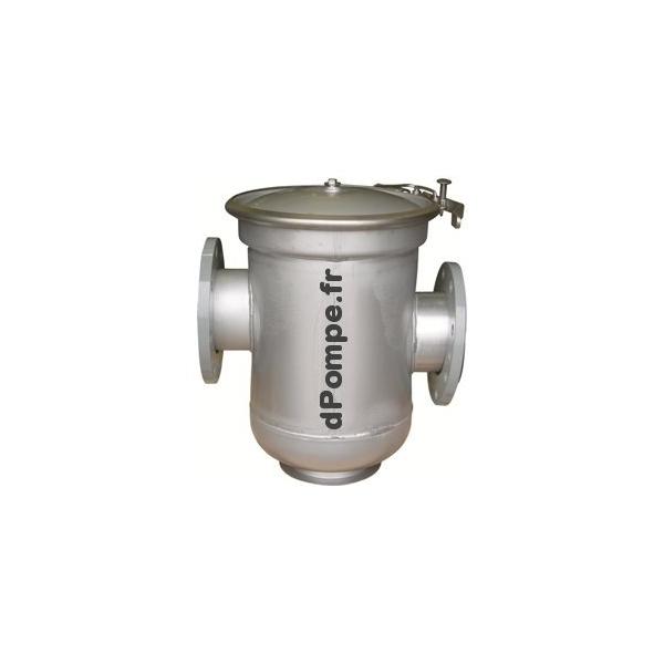 Prefiltre inox 304 pfi 150 304 calpeda pour pompe piscine for Prefiltre pompe piscine