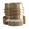 """Raccord à Gros Filet Rond Haute Pression PN 40 Bronze Mâle DN 20 x 3/4"""" (20 x 27) Femelle - dPompe.fr"""