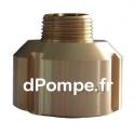 """Raccord à Gros Filet Rond Haute Pression PN 40 Bronze Femelle DN 20 x 1"""" (26 x 34) Mâle - dPompe.fr"""