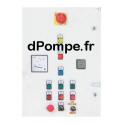 Armoire de Commande 4 kW et 5,5 kW Démarrage Direct 13A - dPompe.fr