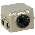 Démarreur Étoile / Triangle Commande Rotatif - dPompe.fr