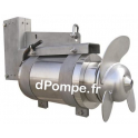 Malaxeur Inox 6 Pôles 1,5 kW - dPompe.fr