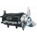 Malaxeur Fonte Moteur Triphasé 6 Pôles 2,2 kW - dPompe.fr
