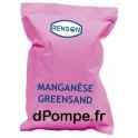 MANGANESE GREENSAND Média Filtrant pour la Réduction du Fer, Manganèse Sac de 14 Litres - dPompe.fr