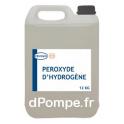 Bidon 12 kg PEROXYDE D'HYDROGÈNE Traitement des Bactéries, Maitrise du Biofilm et Eaux Ferrugineuses - dPompe.fr