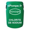 Fût 60 kg CHLORITE DE SODIUM Combiné avec le Chlorite de Sodium pour le Traitement au Dioxyde de Chlore - dPompe.fr