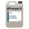 Bidon 25 kg CHLORITE DE SODIUM Combiné avec le Chlorite de Sodium pour le Traitement au Dioxyde de Chlore - dPompe.fr
