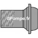 """Raccord à Couplage Sphérique Mâle Fileté DN 100 x 4"""" Acier Galvanisé - dPompe.fr"""