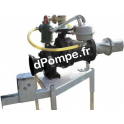 Pompe Dilaceratrice sur Prise de Force DNR 100 de 10 à 150 m3/h entre 70 et 55 m HMT Amorçage Automatique - dPompe.fr
