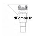 Vanne Mécanique de Flushing Droite en Acier Galvanisé pour Tuyau Ø 300 mm - dPompe.fr