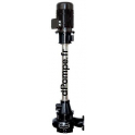 Pompe Verticale pour Flushing de 50 à 1100 m3/h entre 16 et 4,7 m HMT 30 kW DN 250 pour Fosse de 2,5 à 3 m de Profondeur - dPomp