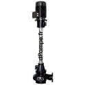 Pompe Verticale pour Flushing de 50 à 1100 m3/h entre 16 et 4,7 m HMT 30 kW DN 250 pour Fosse de 1,5 à 2 m de Profondeur - dPomp