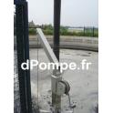 Potence Déportée 150 x 150 avec Treuil Galvanisé et Poulie - dPompe.fr