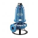 Pompe de Relevage Asperseur Renson de 4 à 54 m3/h entre 60 et 25 m HMT Tri 380 V 7,5 kW avec Coffret - dPompe.fr