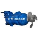 Agitateur Submersible Fonte Ebara GV18B471T1-4T6KA0 Tri 400 V 1,4 kW - dPompe.fr