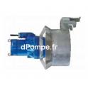 Agitateur Submersible Fonte Ebara GV30A609T1-4C6KA0 Tri 400 V 2 kW avec Concentrateur de Flux - dPompe.fr