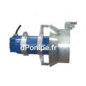 Agitateur Submersible Fonte Ebara GV40B813R1-4N1KA2 Tri 400 690 V 2 kW avec Concentrateur de Flux - dPompe.fr