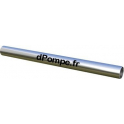 """Barre de Guidage Ronde pour 1"""" Inox 304 (Ø intérieur 27,3mm, Ø extérieur 33,7mm) - dPompe.fr"""