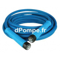 Flexible 5/16 - 20 m Bleu Anti-Traces 400 bars - dPompe.fr