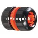 Jonction Plastique de Tuyau Ø 15 - 19 - dPompe.fr