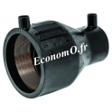 Réduction conique électrosoudable PE100 SDR 11 PN 16 Ø 32x25