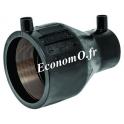 Réduction conique électrosoudable PE100 SDR 11 PN 16 Ø 125x90
