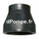 Réduction conique court SDR 17 PE100 bout à bout PN 10 Ø 110x90