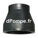 Réduction conique court SDR 17 PE100 bout à bout PN 10 Ø 125x90