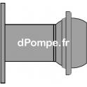 Raccord Mâle ANFOR sur Bride DN150 x Ø 300 mm