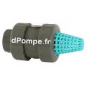 Clapet Crépine PVC Pression PN 16 à Ressort Inox Femelle à Coller Ø 40 - dPompe.fr