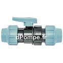 Vanne à Compression Polypropylène PN 16 Ø 40 - dPompe.fr