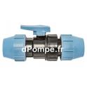 Vanne à Compression Polypropylène PN 16 Ø 50 - dPompe.fr