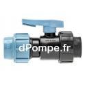 "Vanne à Compression Polypropylène PN 16 Femelle à Visser Ø 25 x 3/4"" (20 x 27) - dPompe.fr"