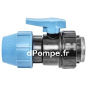 "Vanne à Compression Polypropylène PN 16 Femelle à Visser Ø 50 x 1""1/2 (40 x 49) - dPompe.fr"