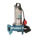 Pompe de Relevage a Roue Vortex GQV 50-11 CG Calpeda 3 a 33 m3/h entre 10,5 et 1,8 m HMT TRI 400 V 0,90 kW