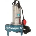 Pompe de Relevage Vortex Calpeda GQSM 50-9 SBU de 3 à 27 m3/h entre 8,8 et 2,2 m HMT Mono 230 V 0,75 kW - dPompe.fr