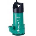 Pompe de Relevage Wilo EMU KS 8D de 2 à 23 m3/h entre 16,6 et 1 m HMT Tri 400 V 0,75 kW - dPompe.fr