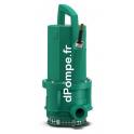Pompe de Relevage Wilo Drain TMT 32M113/7,5Ci de 2 à 21,7 m3/h entre 15 et 2,5 m HMT Tri 400 V 0,75 kW