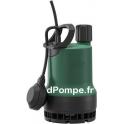 Pompe de Relevage Wilo-Drain TMW 32/11-30M de 1 à 14,5 m3/h entre 9,8 et 0,5 m HMT Mono 230 V 0,55 kW