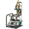 Surpresseur 2 Pompes Wilo Sinum Pump D02 de 1,3 à 3,8 m3/h entre 35 et 12 m HMT Mono 230 V 1,2 kW - dPompe.fr