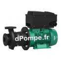 Pompe de Surface Wilo CronoBloc BL-E 125/185-5,5/4-R1 de 25 à 250 m3/h entre 10,4 et 6,2 m HMT Tri 400 V 5,5 kW - dPompe.fr