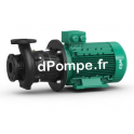 Pompe de Surface Wilo CronoBloc BL 32/160-0,55/4 de 2 à 20 m3/h entre 9,2 et 6,9 m HMT Tri 400 V 0,55 kW - dPompe.fr