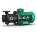 Pompe de Surface Wilo CronoBloc BL 32/160.1-4/2 de 2,6 à 27 m3/h entre 41,5 et 29,5 m HMT Tri 400 V 4 kW - EconomO.fr