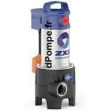 Pompe de Relevage Pedrollo ZXm 2/40-GM de 6 à 24 m3/h entre 9,8 et 2 m HMT Mono 220 230 V 0,55 kW