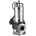 Pompe de Relevage Ebara 65DAR51.1VT Vortex de 3 à 30 m3/h entre 9 et 4 m HMT Tri 400 V 1,1 kW  - dPompe.fr