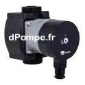 Circulateur Ebara Ego 2 25/60-130 de 0,6 à 3 m3/h entre 5,4 et 1,8 m HMT Mono 230 V 35 W - dPompe.fr