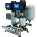 Surpresseur Ebara 2GPE EVMSG3 9N5/1.1 ESPM 304M de 2,4 à 9 m3/h entre 63,5 et 37,6 m HMT Tri 230 V 1,1 kW Variateur E-SPD Mono 2