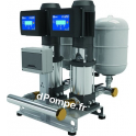 Surpresseur Ebara 2GPE EVMSG3 10N5/1.1 ESPM 304M de 2,4 à 9 m3/h entre 70,5 et 41,5 m HMT Tri 230 V 1,1 kW Variateur E-SPD Mono